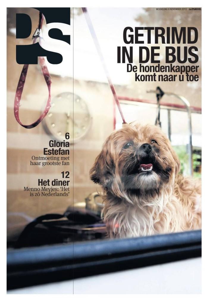 PS. van de week hondenkapper foto